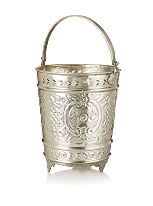 Found Objects Moroccan Bucket, Silver