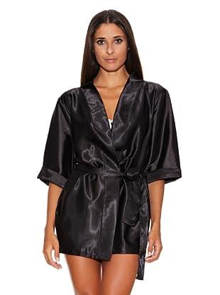 Bésame, Nichole Meyer Collection Kimono  Negro Única
