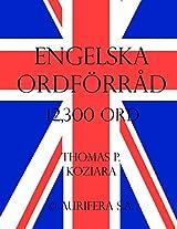 Engelska Ordforrad (Swedish Edition)