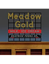 88 1950 Lg Meadow Gold Billboard Sign By Miller Signs