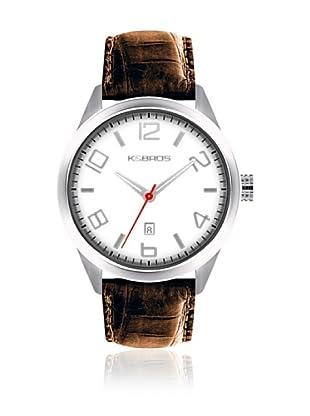 K&Bros Reloj 9485 (Blanco)