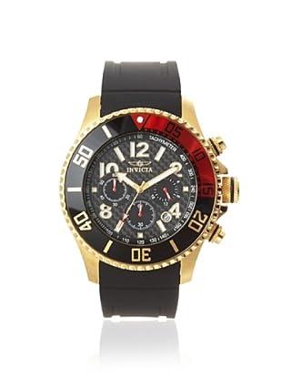 Invicta Men's 13729 Pro Diver Black Polyurethane Watch
