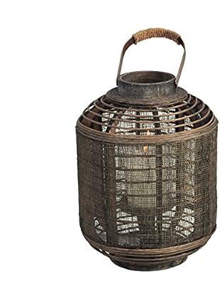 Short Jute Lantern, Brown