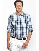 Checks Grey Casual Shirt Basics