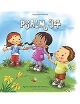 Psalm 34: Bibelcapitel für Kinder: Volume 5
