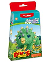 Paulinda 072493-1 Modeling Foam Dinos Return, Multi Color