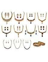 Variation Rakhi Special Colourful Jewellery Collection - VD14055