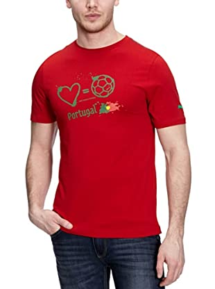 Puma T-Shirt Love Football (chili pepper-portugal)