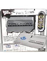 Tech Deck Tony Hawk Park Series Eurogap - Silver [Toy] Skateboarding [Toy]