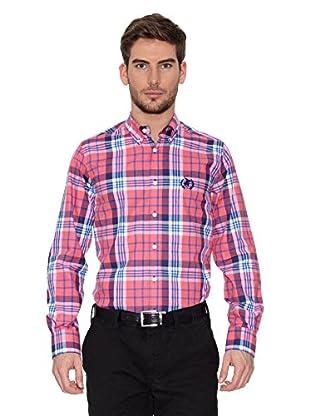 Polo Club Camisa Hombre Checks