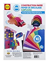 ALEX Toys Artist Studio Construction Paper 240 Sheets