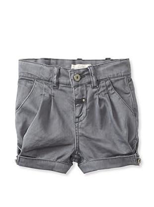 Pale Cloud Girl's Adrine Shorts (Med Grey)