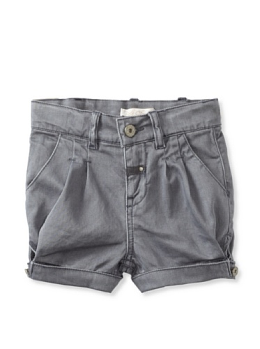 Pale Cloud Girl's Adrine Shorts (Med Grey)