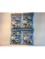 (4) NEW bags of EZ Towels with (4) Durable Tubes and Packaging, 200 Pieces total