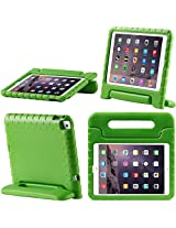 iPad Air 2 Case, i-Blason Apple iPad Air 2 Case for Kids [ArmorBox Kido Series] Light Weight Super Protection Convertable Stand Cover for iPad Air 2nd Generation 2014 Release (iPad Air 2, Green)