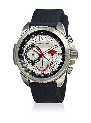 Morphic Reloj con movimiento cuarzo japonés Mph2801 Negro 45  mm