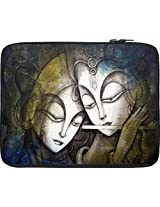 Snoogg Digital 13 inch Laptop netbook notebook Slipcase sleeve Soft case cover