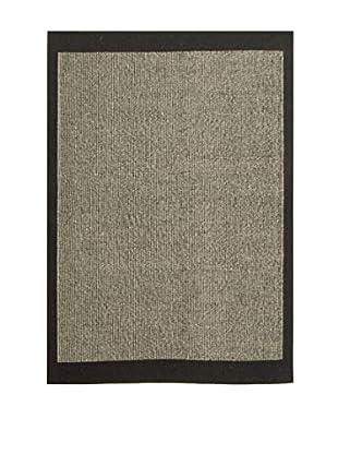 ABC Teppich Jersey schwarz/grau 170 x 240 cm