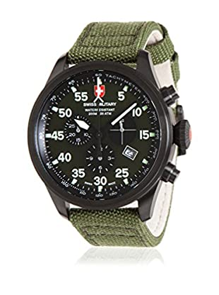 Swiss Military Reloj de cuarzo Man Hawk Nero Rawhide 44 mm