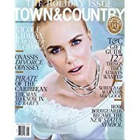 TOWN & COUNTRY December 2016 小さい表紙画像