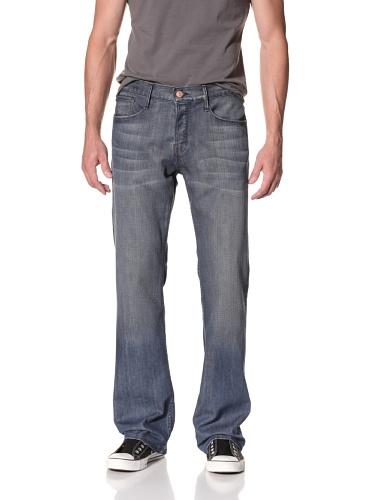 Earnest Sewn Men's Hemmingway 5 Pocket Full Leg Jeans (Garrett)