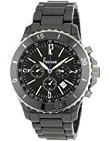 Freelook Mens HA5108-1 Lagon Black Ceramic Watch