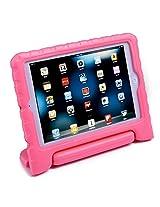 HDE iPad Mini Kids Case Shockproof Handle Stand Cover for Apple iPad Mini 2/3 Retina (Light Pink)