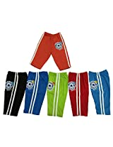 Zero Baby Track pants (Pack Of 6) (Red Peach Green_3-6 Months)
