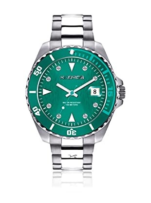 K&Bros  Reloj 9175 (Verde)