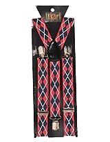 Tiekart Mens Y-Back Suspender (Sus213_Multi-Coloured)