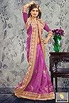 Violet Indigo Bhagalpuri Wedding Bridal Saree