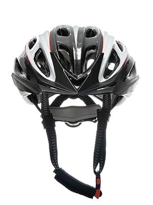 Briko Morgan Fahrradhelm (weiß schwarz rot)