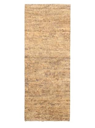 Rabat Long Hair Modern Rug, Khaki, 3' 9