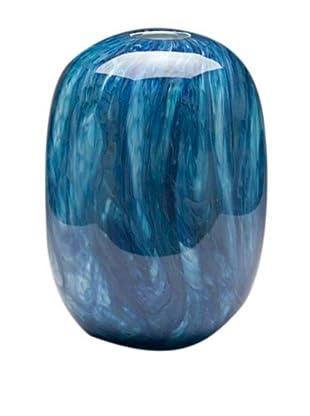 Dynasty Glass Oceana Collection Beehive Vase, Oceana