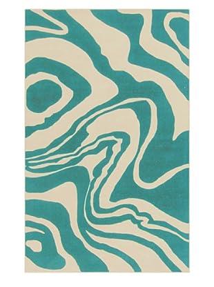 Surya Hyades Rug (Bone/Sea Blue)