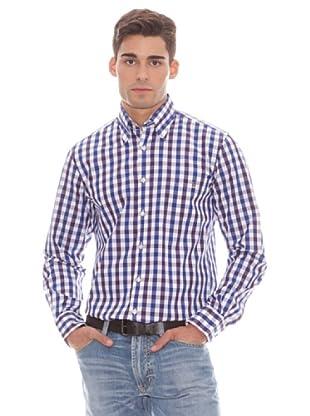Gant Camisa Cuadros (malva)
