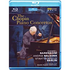 Chopin Piano Concertos [Blu-ray] [Import]