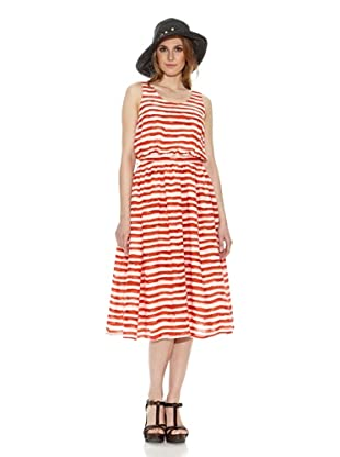 Lavand Vestido Largo (Rojo)