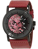Ed Hardy Men's KM-BG Kombat Red Watch