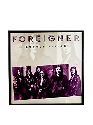 Foreigner: Double Vision Red Framed Album Cover