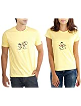 LaCrafters Couple Tshirt - Love Proposal Yellow_XX-Large