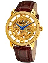 Stuhrling Original Classic Analog Gold Dial Men's Watch - 165B.3335K31
