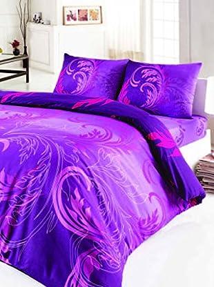 Colors Couture Bettdecke und Kissenbezug Destiny