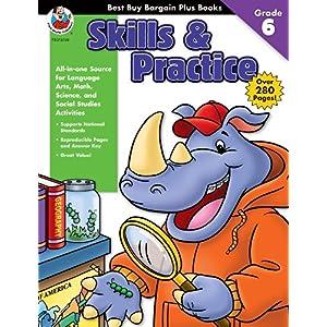 【クリックで詳細表示】Best Buy Bargain Plus Books Skills & Practice: Grade 6 (Best Buy Bargain Books): School Specialty Publishing, Carson-Dellosa Publishing, Frank Schaffer Publications: 洋書