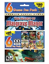 MumboJumbo 6 Pack: Nancy Drew/Secret of the Scarlet Hand/7 Wonders 2/Luxor Mahjong/Slingo Quest Hawaii/Samantha Swift/The Secret of Margrave Manor (PC)
