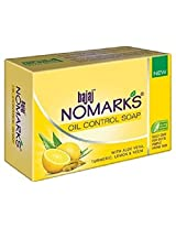 4 X Nomarks Oil Control Soap Enriched with Organic Ingredients Like Aloe Turmeric Neem & Lemon Gently Remove Excessive Oil Good for Acne-pimple-prone Skin 75gm X 4 Soaps