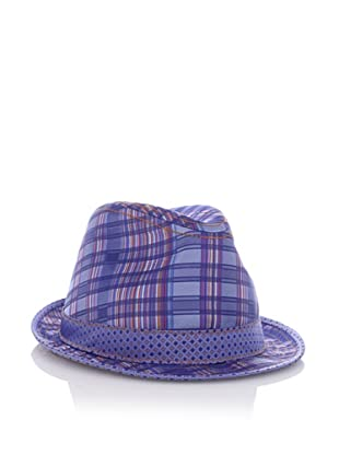 Robert Graham Men's Edwidge Fedora (Blue)