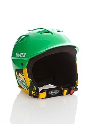 Uvex Casco Ski X - Ride Junior (Verde / Amarillo)