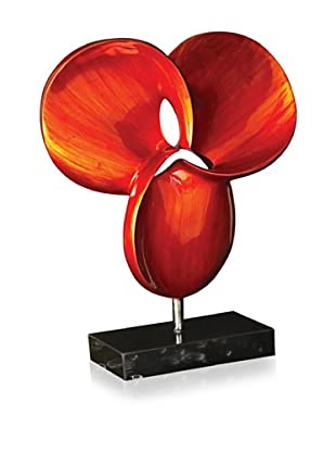 Bright Red Contemporary Sculpture, Scarlet