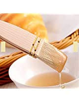 Baking BBQ Wool Brush Wooden Handle Cake Bread Barbecue Oil Butter Wool Brush Tool